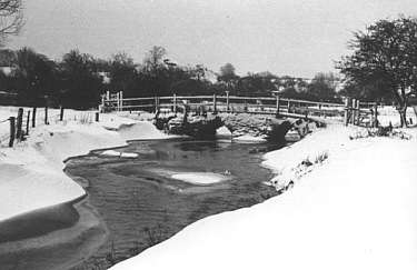 The White Bridge in winter