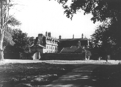 Garendon Hall, destroyed in 1960
